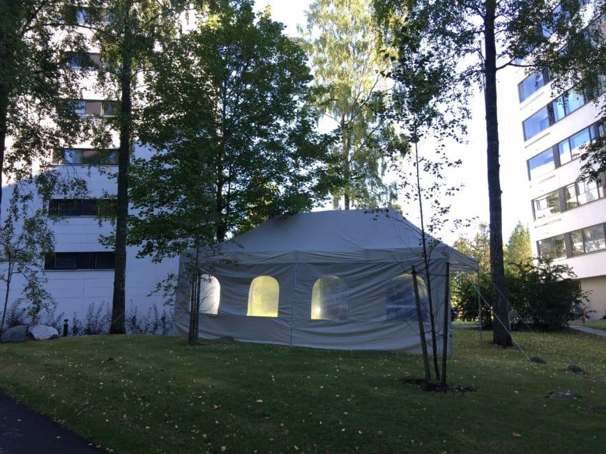 4x8m teltta