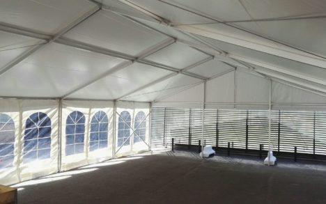 12 m teltan sisätilat