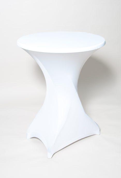 Pystypöytä hupulla