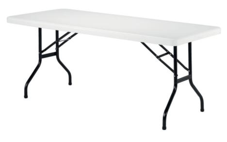 Taittopöytä valk